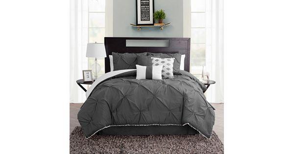 Pom Pom 7 Piece Comforter Set