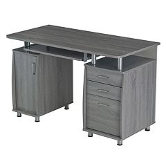 Techni Mobili Workstation 3-Drawer Desk