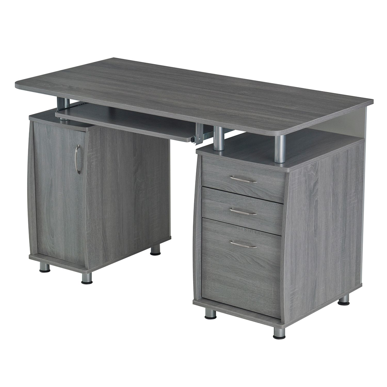 Techni Mobili Workstation 3 Drawer Desk