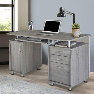 Techni Mobili Workstation 3-Drawer Desk
