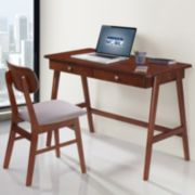 Techni Mobili Modern Desk & Chair 2-piece Set