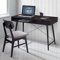 Techni Mobili Mid-Century Modern Desk & Chair 2-piece Set