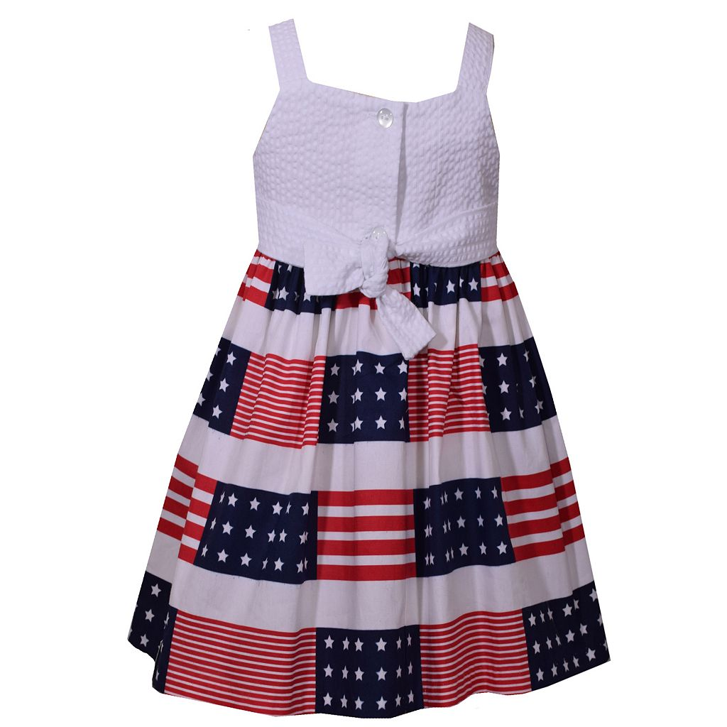 Girls 4-6x Bonnie Jean Americana Sundress