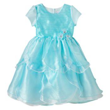 Toddler Girl Nanette Organza Petal Dress