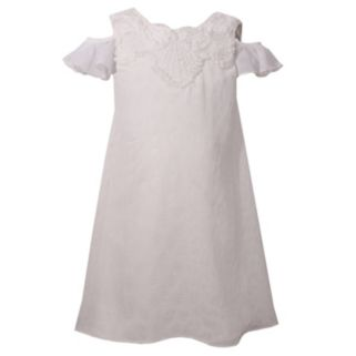 Girls 4-6x Bonnie Jean Cold Shoulder Special Occasion Dress