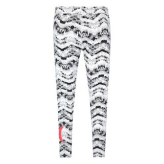 Girls 7-16 Hurley Printed Moto Leggings