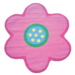 Fun Rugs Fun Time Shape Light Pink Poppy Rug - 3'3'' x 3'3''