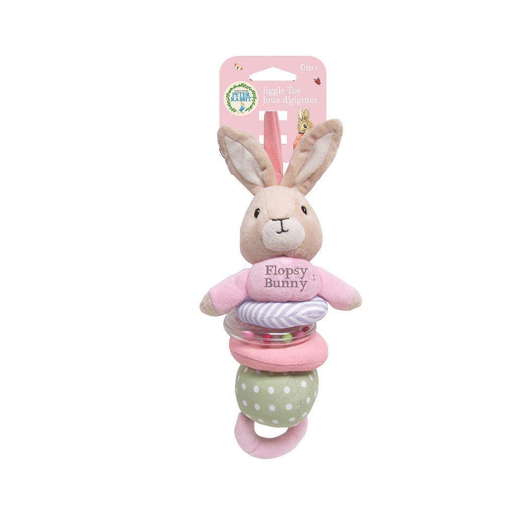 Beatrix Potter Flopsy Bunny Jiggle Toy by Kids Preferred