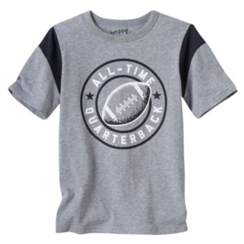 """Boys 4-10 Jumping Beans® """"All-Time Quarterback"""" Graphic Tee"""
