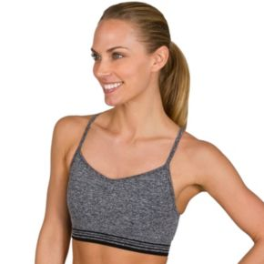 Jockey Sport Bras: Athletic Stripe Low-Impact Sports Bra 9320