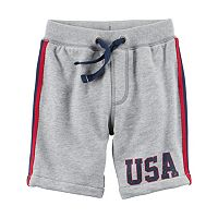 Boys 4-8 Carter's USA Pull-On Shorts