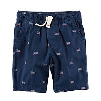 Boys 4-8 Carter's American Flag Shorts
