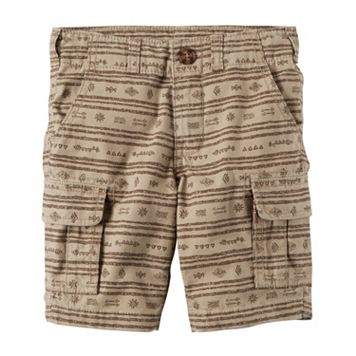 Boys 4-8 Carter's Printed Cargo Shorts