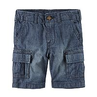 Boys 4-8 Carter's Denim Cargo Shorts