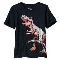 Boys 4-10 Jumping Beans® Glow-in-the-Dark Dinosaur Graphic Tee