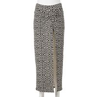 Juniors' Joe B Knot Front Maxi Skirt
