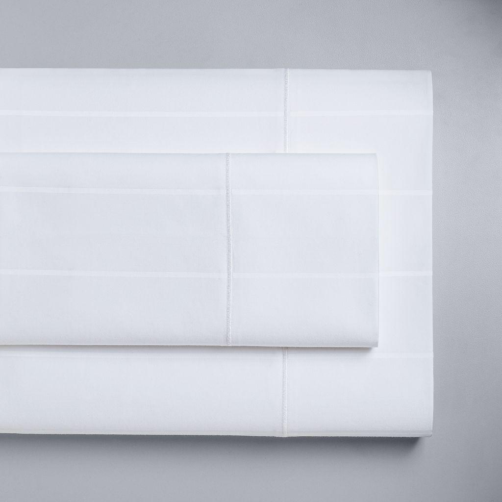 Simply Vera Vera Wang 4-piece 600 Thread Count Striped Sheet Set