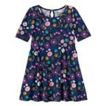 Girls 4-10 Jumping Beans® Curved Seam Dress