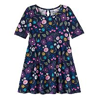 Girls 4-10 Jumping Beans® Curved Seam Dress