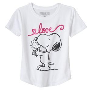 Girls 7-16 & Plus Size Peanuts Snoopy & Woodstock