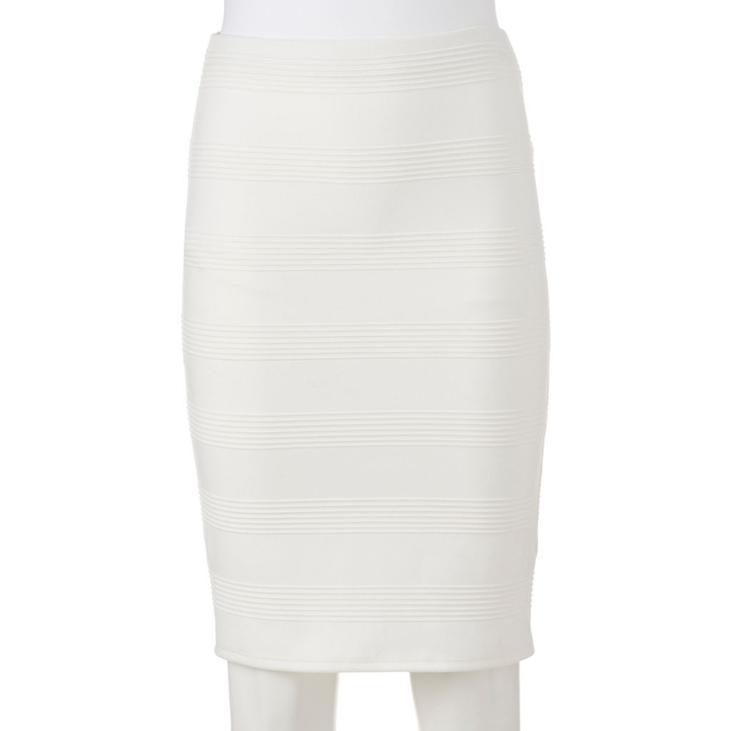 Juniors' Joe B Bodycon Midi Skirt