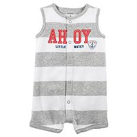 Baby Boy Carter's Striped Romper