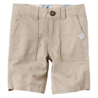 Baby Boy Carter's Pork Chop Pocket Woven Shorts