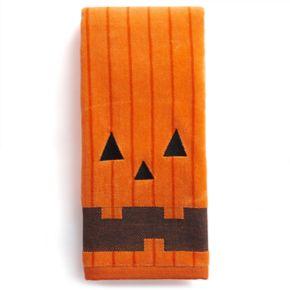 Celebrate Together Pumpkin Face Hand Towel