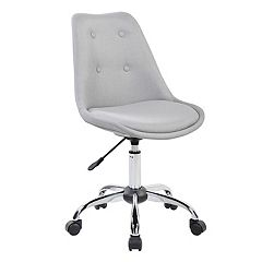 Techni Mobili Tufted Armless Desk Chair