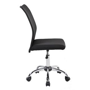 Techni Mobili Modern Armless Desk Chair