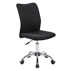 Techni Mobili Modern Armless Desk Chair