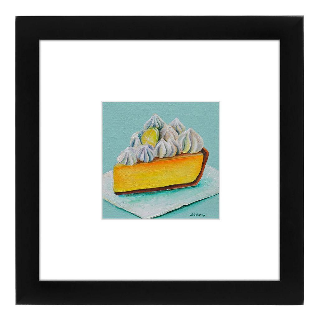 Americanflat Lemon Meringue Framed Wall Art