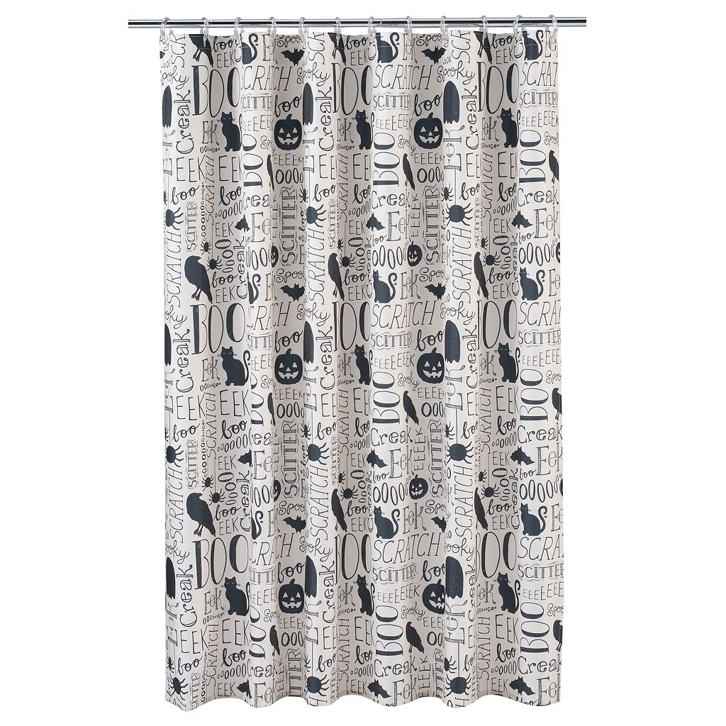 Celebrate Together Halloween Shower Curtain