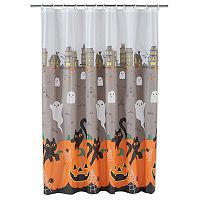 Celebrate Together Spooky Scenic Shower Curtain