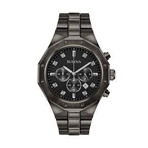 Bulova Men's Diamond Ion-Plated Stainless Steel Chronograph Watch - 98D142