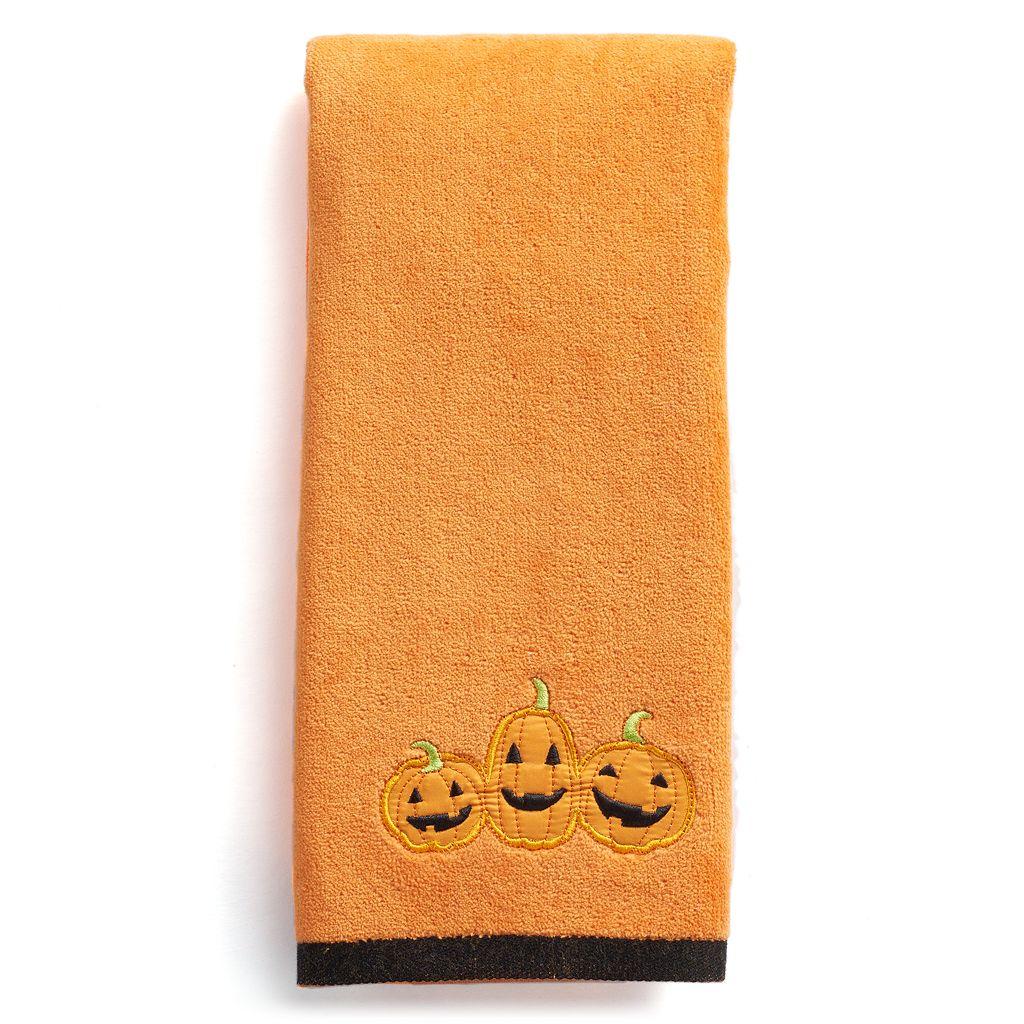 Celebrate Together Pumpkins Hand Towel