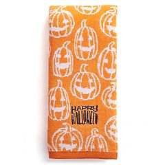 celebrate together happy halloween hand towel - Halloween Bath Towels