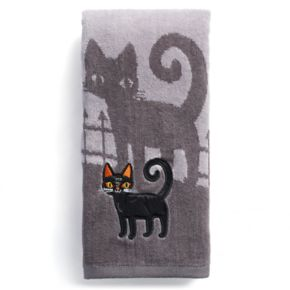Celebrate Together Cat Scenic Hand Towel