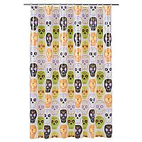 Celebrate Together Sugar Skulls Shower Curtain