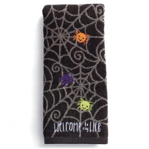 Celebrate Together Spider Web Hand Towel