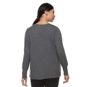 Plus Size Tek Gear® Tulip-Hem Sweatshirt