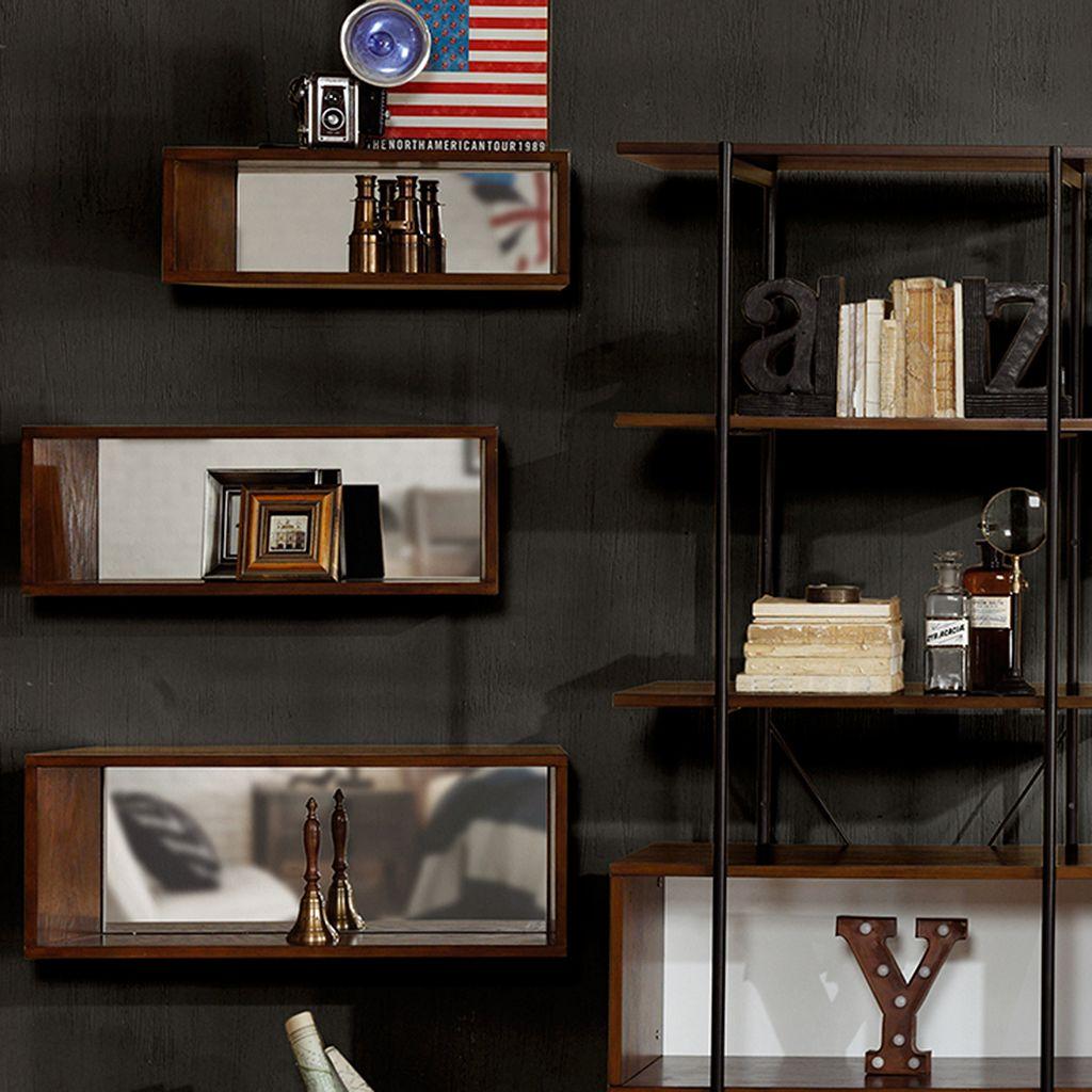 INK+IVY Clark Wall Shelf 3-piece Set