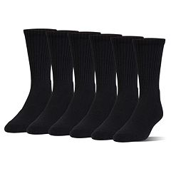 Boys Under Armour 6-Pack Crew Socks
