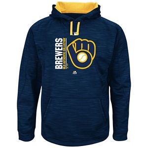 Men's Majestic Milwaukee Brewers Team Icon Hoodie