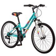 Girls Schwinn High Timber 24-Inch Mountain Bike