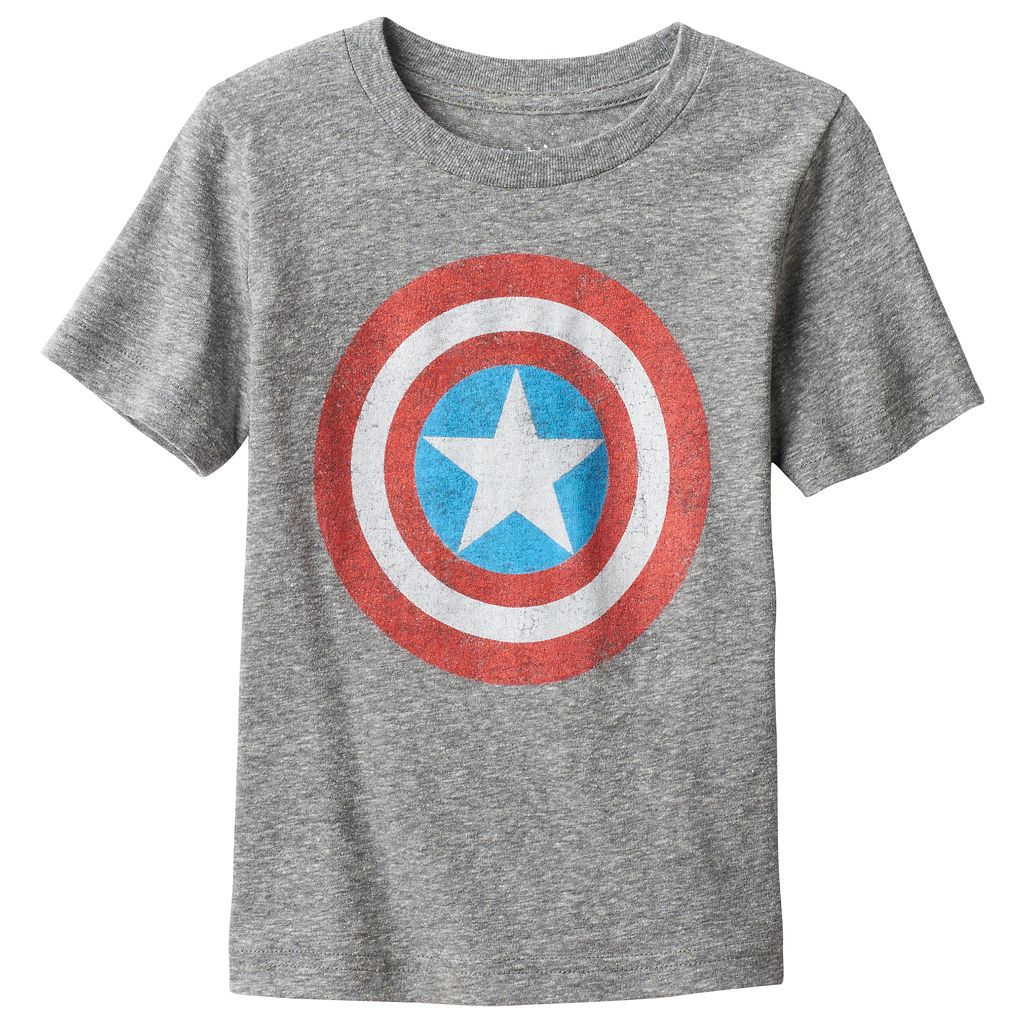 Toddler Boy Jumping Beans® Marvel Captain American Graphic Tee