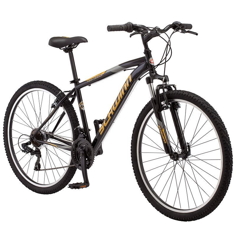 Men's Schwinn High Timber 27.5-Inch Mountain Bike, Black -  S3029B