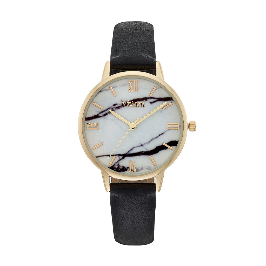 Vivani Women's Faux Marble Watch