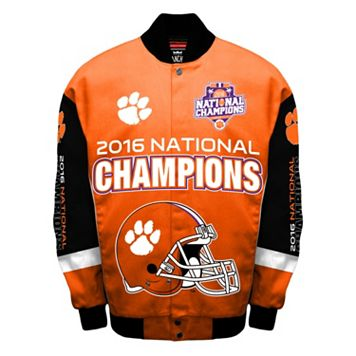 Men's Franchise Club Clemson Tigers 2016 National Champions Jacket