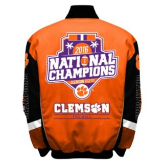 Men's Franchise Club Clemson Tigers 2016 National Champions Jacket